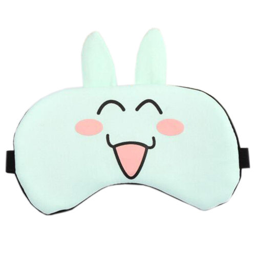 Lovely Lightweight Sleep Mask Eye Mask Eye Cover, Cyan-blue