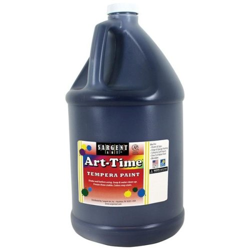 Sargent Art SAR176685BN 2 Each 1 gal Art - Time Washable Paint, Black