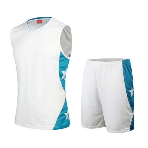 Basketball Jerseys Suit Training Team Sportwear for Men