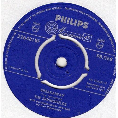 "Breakaway 7"" (UK 1961) , The Springfields"