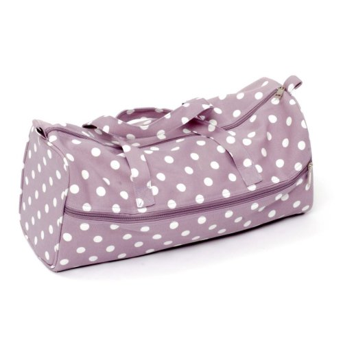 HobbyGift Mauve Spot Knitting Bag