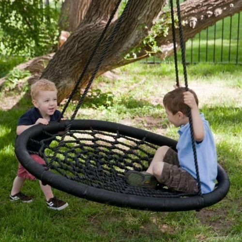 2 Person Giant Kids Outdoor Nest Disc Swing