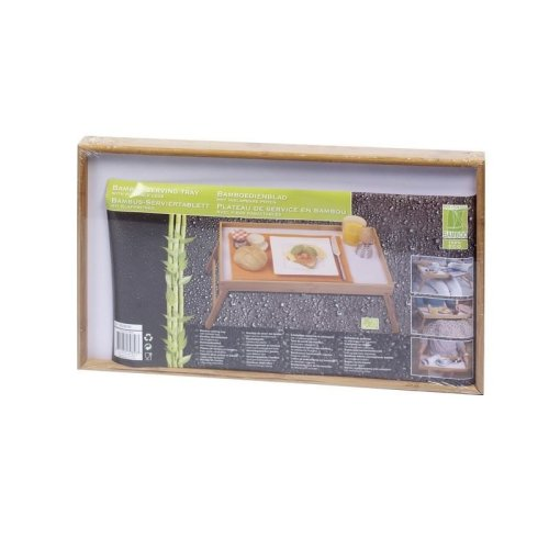 50X30 Bamboo Folding Bed Breakfast Tray Table