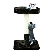 Trixie Raul Scratching Post, 72 Cm, Brown - Post Cat Kitten Plush Sisal Covered -  trixie raul scratching post brown cat kitten plush sisal covered