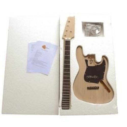 Electric Bass Guitar DIY Kit 1WM5 DJazz Bass (DJB) 5 STRING Kits NO SOLDERING REQUIRED.