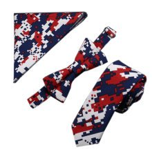 Mens Fashionable Formal/Informal Ties Set Necktie/Bow Tie/Pocket, No.1