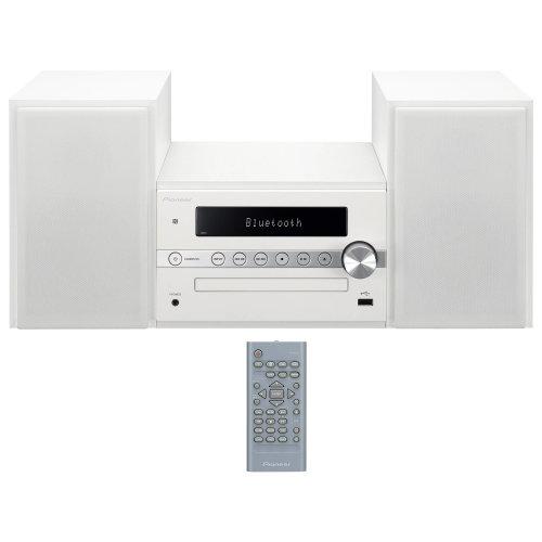 Pioneer X-CM56 White Bluetooth CD FM USB Hi-Fi Micro-System