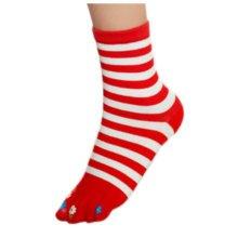 Tube Toe Socks Cotton Soft House Socks Cartoon Cute Socks-A09