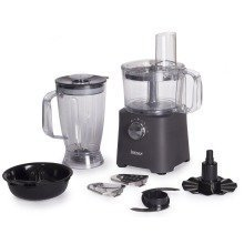 Igenix Ig8710 Multi Purpose 500w Food Processor Matt Grey