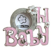 [Baby Pink] Lovely Pink Baby Photo Frame for 2 inch Photo