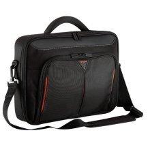 Targus Classic Clamshell Laptop Bag / Case fits 18 Inch Laptops, Black