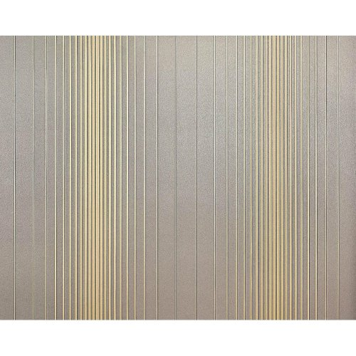 EDEM 934-37 non-woven striped wallpaper XXL grey gold metallic 10.65 sqm
