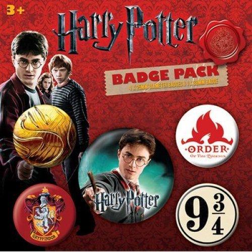 Harry Potter - Gryffindor Badge Pack , 11x11cm -