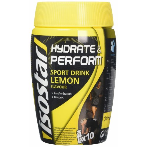 Isostar Hydrate and Perform Lemon Powder 400g