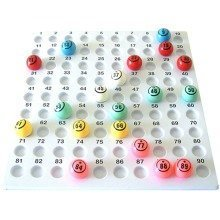 Large Bingo Checkboard for 38mm Balls