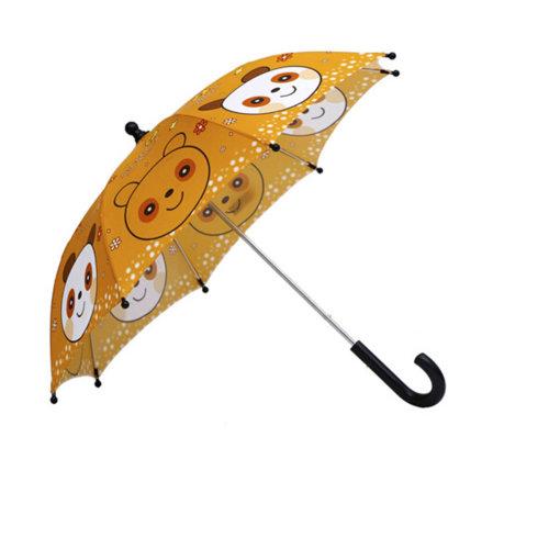 Rainy Sunny Day Umbrella Childrens/Bright colors Umbrella,?0-5Ages),Panda