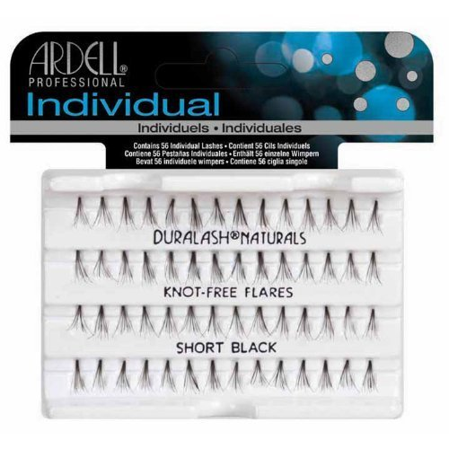 Ardell Individual Natural Lashes Knot Free - Short Black 56 Individual Lashes