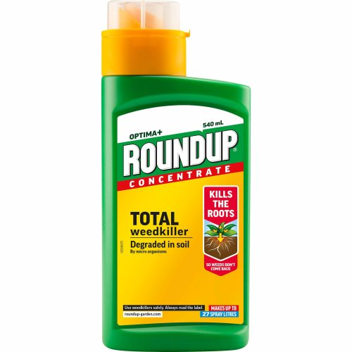 Roundup Optima+ Weedkiller Concentrate Bottle, 540 ml