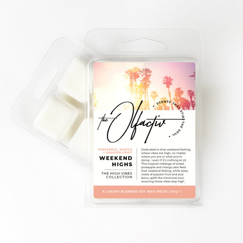 Wax Melts, 80g - Weekend Highs (Pineapple, Mango and Passion Fruit)