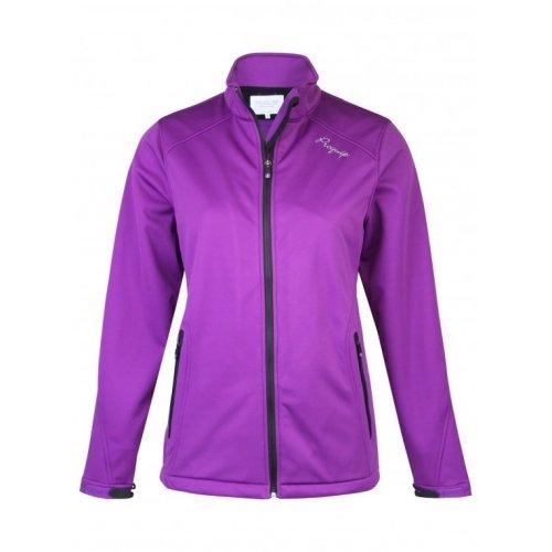 ProQuip Isla Full Zip Soft Shell Wind 360 Jacket Purple XX-Large