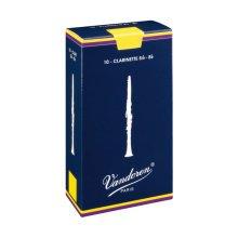 Vandoren Traditional Bb Clarinet Reed, Strength 3, Box of 10