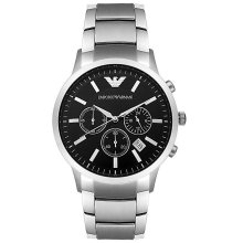 EMPORIO ARMANI AR2434 STAINLESS STEEL MEN'S WATCH