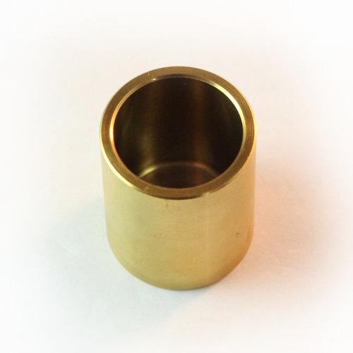 Titanium caliper piston. Titanium Nitride coated