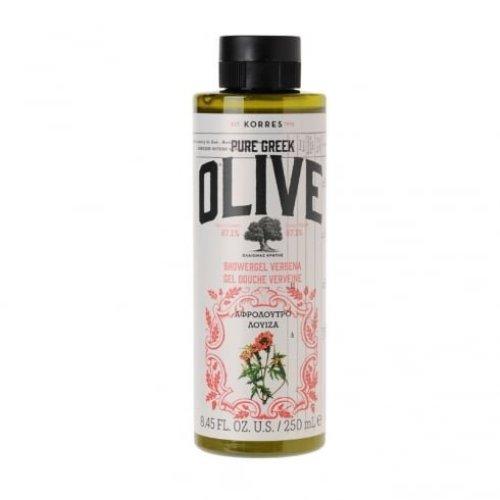KORRES Pure Greek Olive Natural Olive Verbena Shower Gel, Vegan