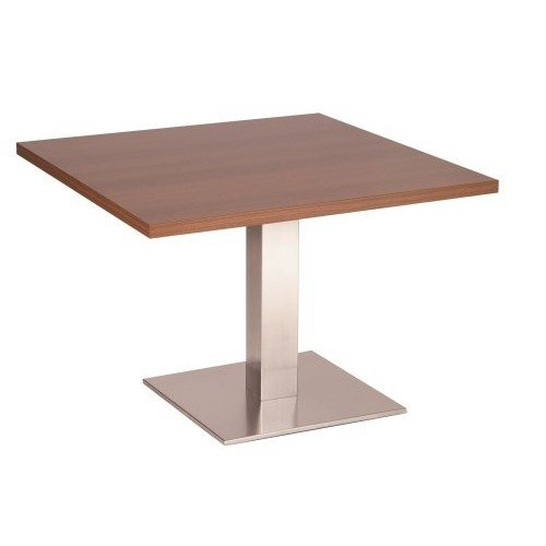 Daniella Coffee Table Stainless Steel Base with Various Size and Colour Tops White Round 800 Round (+65)