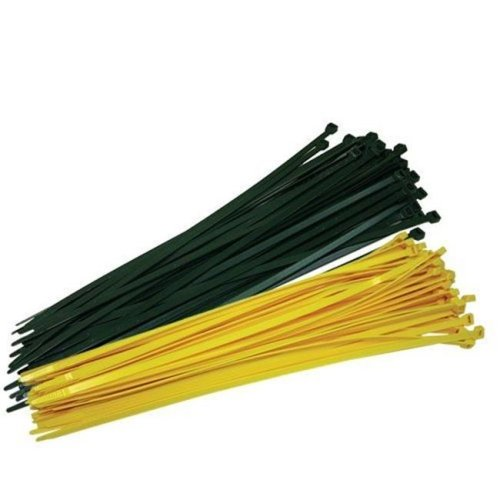 Fence Crown Ties, Yellow - Pack of 100