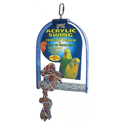 Lazy Bones Acrylic Swing Perch (16x32)