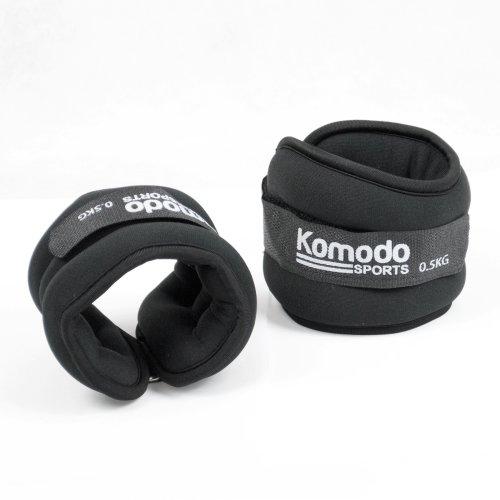 Komodo Neoprene Ankle Wrist Weights - 2kg