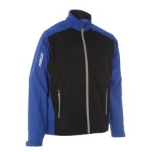 ProQuip Golf Mens Aquastorm PX1 Waterproof Rain Jacket Full Zip Surf/Black Large