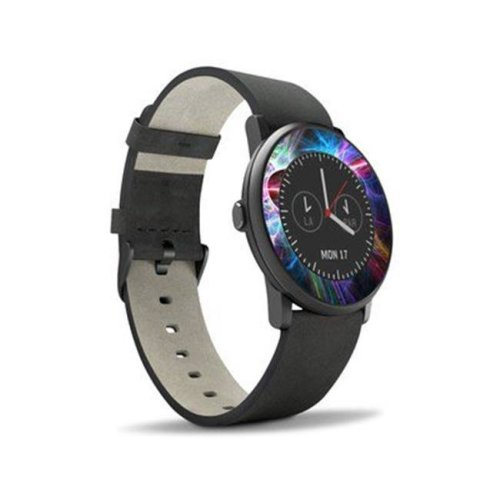 DecalGirl PTRN-STATIC Pebble Time Round Skin - Static Discharge