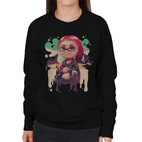 Inkling Lisa Splatoon Women's Sweatshirt