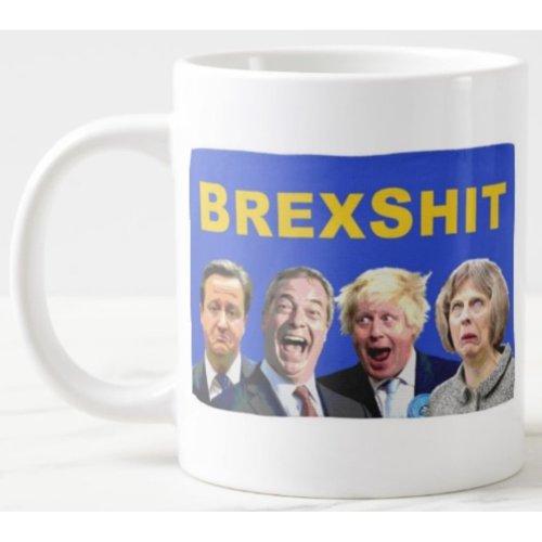 Brexshit - Novelty Ceramic Mug - Brexit Parody