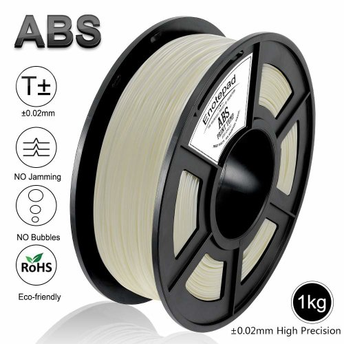 Enotepad White ABS 3D Printer Filament, Dimensional Accuracy +/- 0.02 mm, 1kg/Spool,1.75 mm,Yollow,Eco-friendly Filament Suitable for 3D Printer/3D...