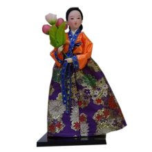 Lovely Korean Furnishing Articles Oriental Doll For Home Decoration, No.1