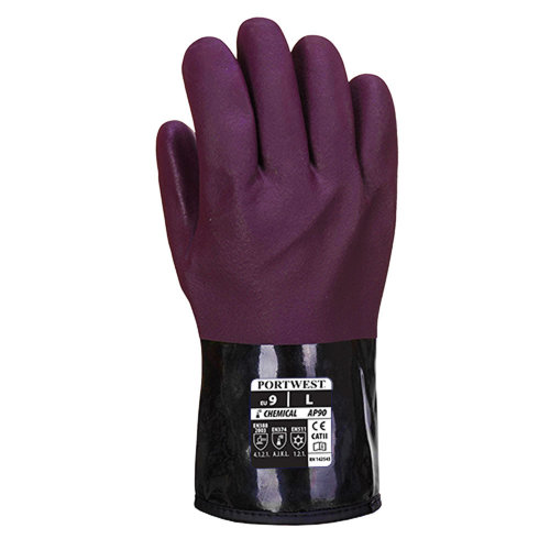 sUw - Mens Chemtherm Lined Chemical Gloves