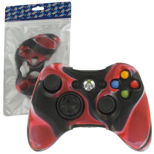 Protective case for Xbox 360 controller silicone cover ZedLabz – Camo red