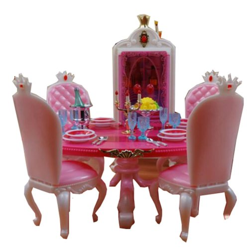 Luxurious 11.5'' Doll Living Room Furniture Set-Living Room 03