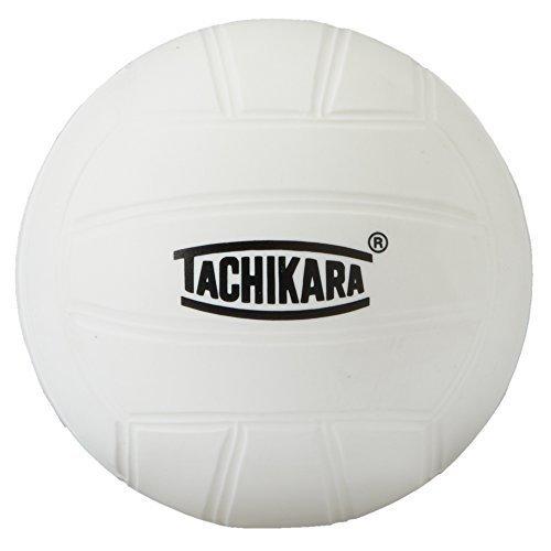 Tachikara Mini Toss to the Crowd Volleyball, White, 4-Inch