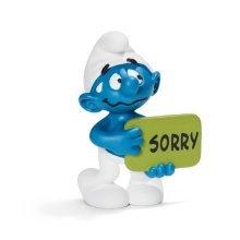 Schleich Sorry Smurf Toy Model -  schleich smurf sorry 20749 smurfs figure