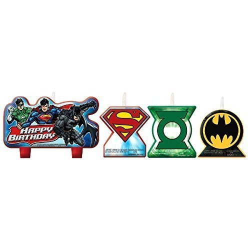 Justice League Candles - /4