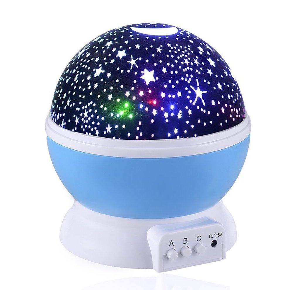 d8b4d0f29180 Skybaba Kids Night Light Stars Night Light Projector, 360 Degree Moon Star  Projection Starry Sky Projector, Rotation Night Projection Lamp Kids... on  OnBuy