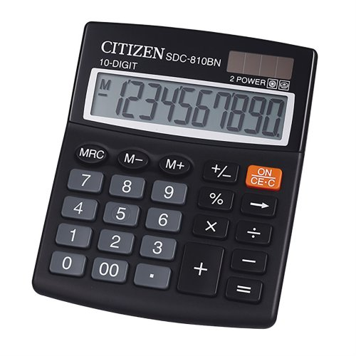 Citizen SDC-810BN Desktop Calculator