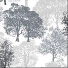 4 x Paper Napkins - Skeleton Trees in Grey - Ideal for Decoupage / Napkin Art