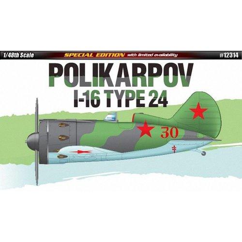 Aca12314 - Academy 1:48 - Polikarpov I16 Type 24