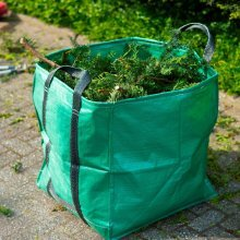 Nature Garden Waste Bag Square Green 325 L 6072401