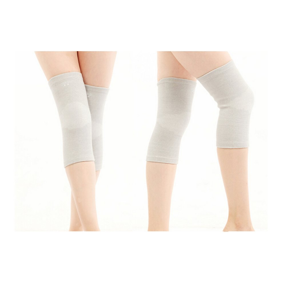 3bf20515a6 ... Simple Knee Brace Sleeve for Sports/Yoga/Dance/Arthritis/Joint Pain  Gray. >